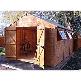 20X10 Shiplap Timber Workshop