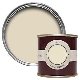 Farrow & Ball Lime White no.1 Estate emulsion