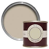 Farrow & Ball Old White no.4 Estate emulsion paint 0.1L Tester pot