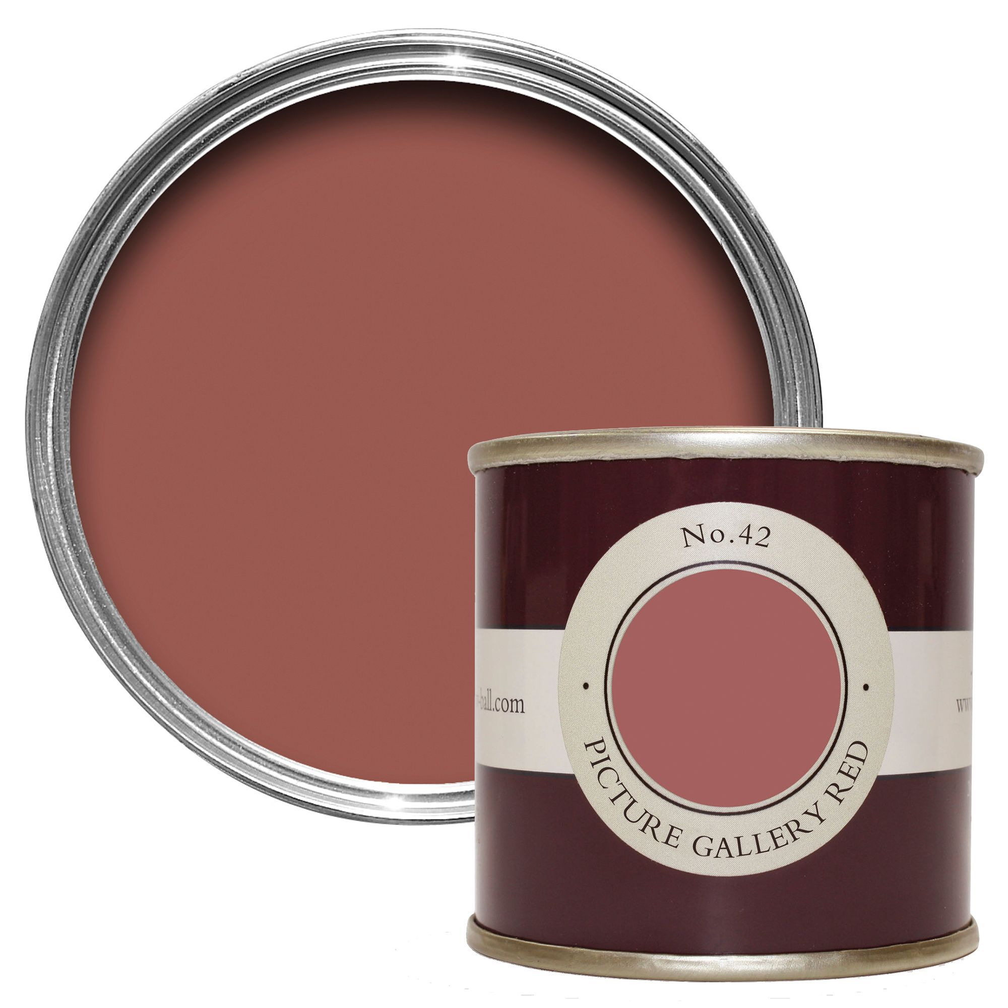 Farrow & Ball Picture Gallery Red no.42 Estate