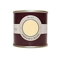 Farrow & Ball Farrow's Cream no.67 Estate emulsion paint 0.1L Tester pot