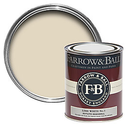 Farrow & Ball Lime White no.1 Estate Eggshell