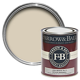 Farrow & Ball Off White no.3 Estate Eggshell