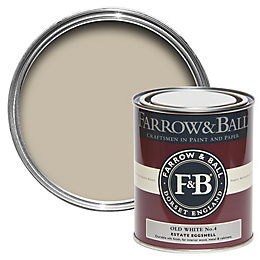 Farrow & Ball Old White no.4 Estate Eggshell