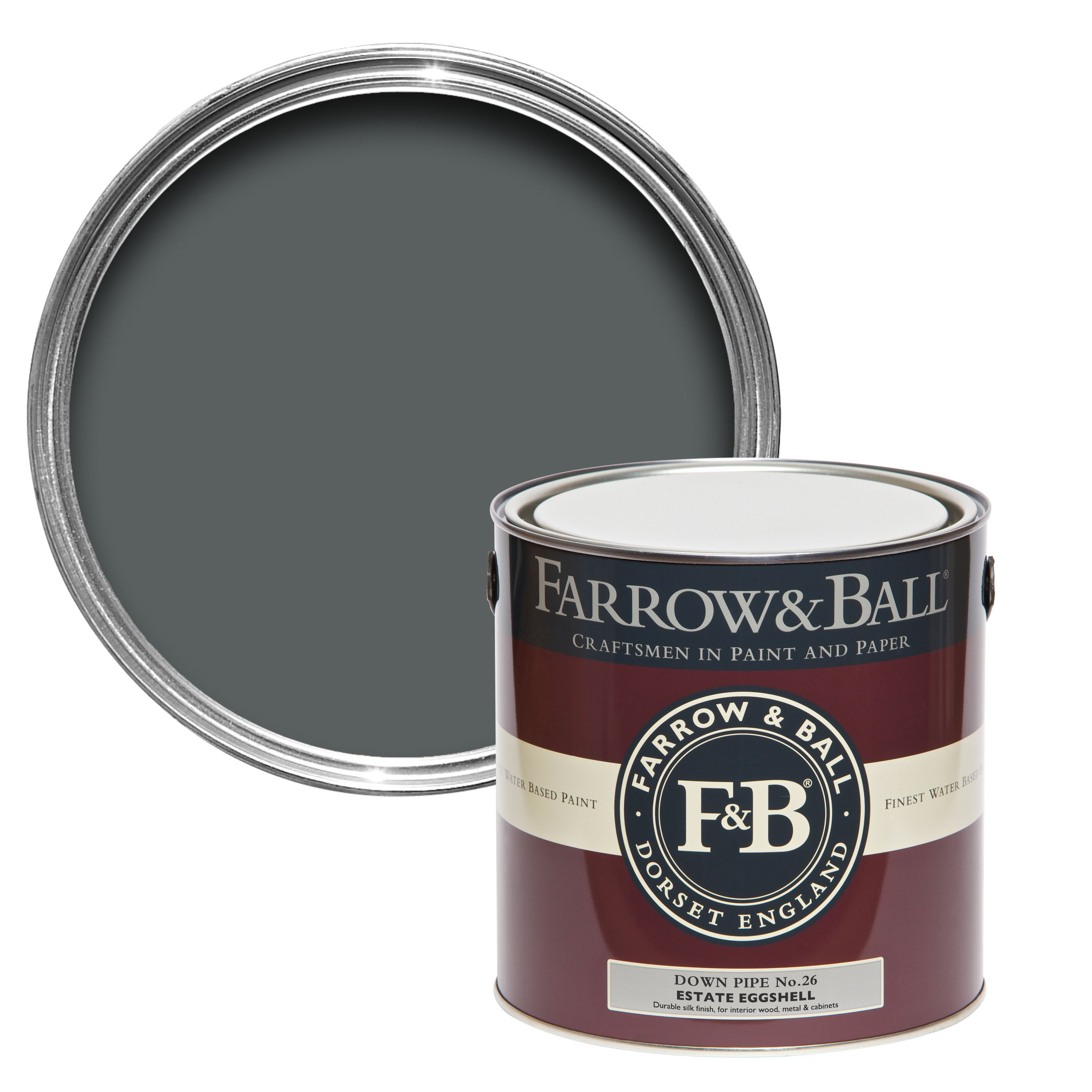 Farrow & Ball Down Pipe no.26 Estate Eggshell