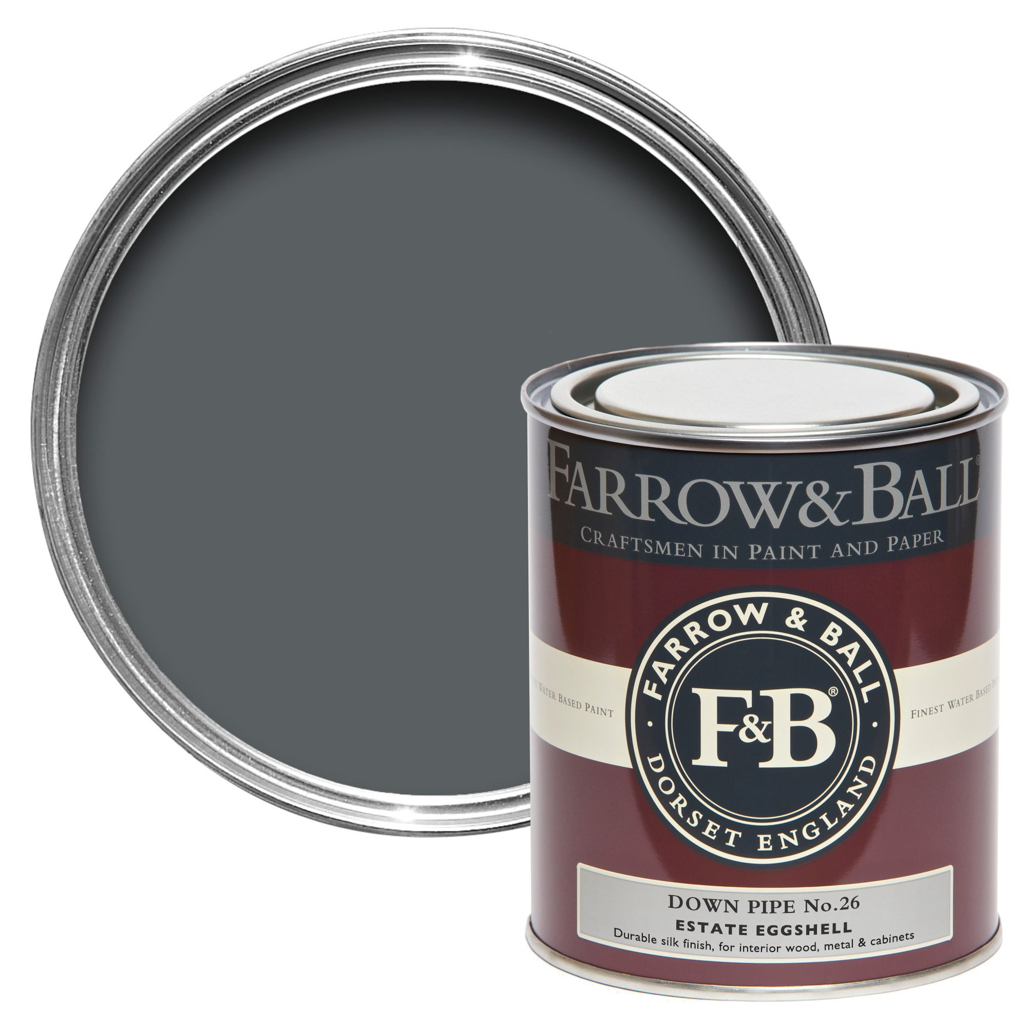 farrow ball estate eggshell down pipe silk sheen. Black Bedroom Furniture Sets. Home Design Ideas