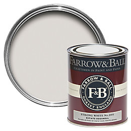 Farrow & Ball Strong White no.2001 Estate Eggshell