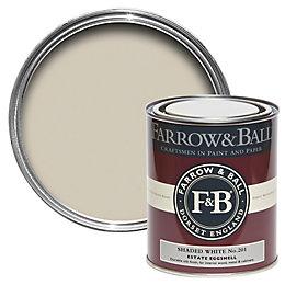 Farrow & Ball Estate Eggshell Shaded White No.201