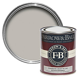 Farrow & Ball Pavilion Gray no.242 Estate Eggshell