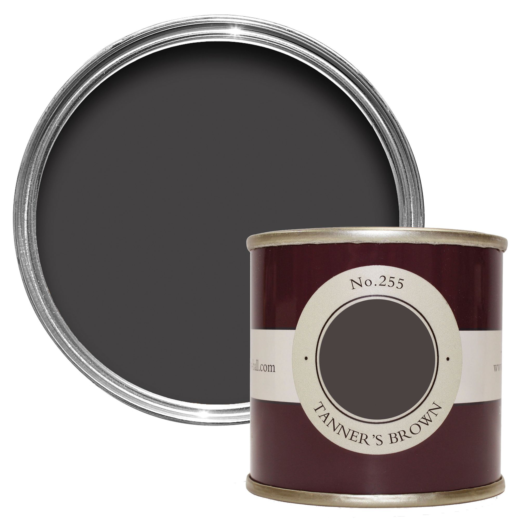 Farrow & Ball Tanners Brown no.255 Estate emulsion