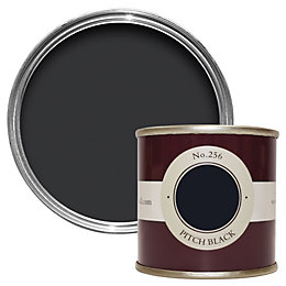 Farrow & Ball Pitch Black no.256 Estate emulsion