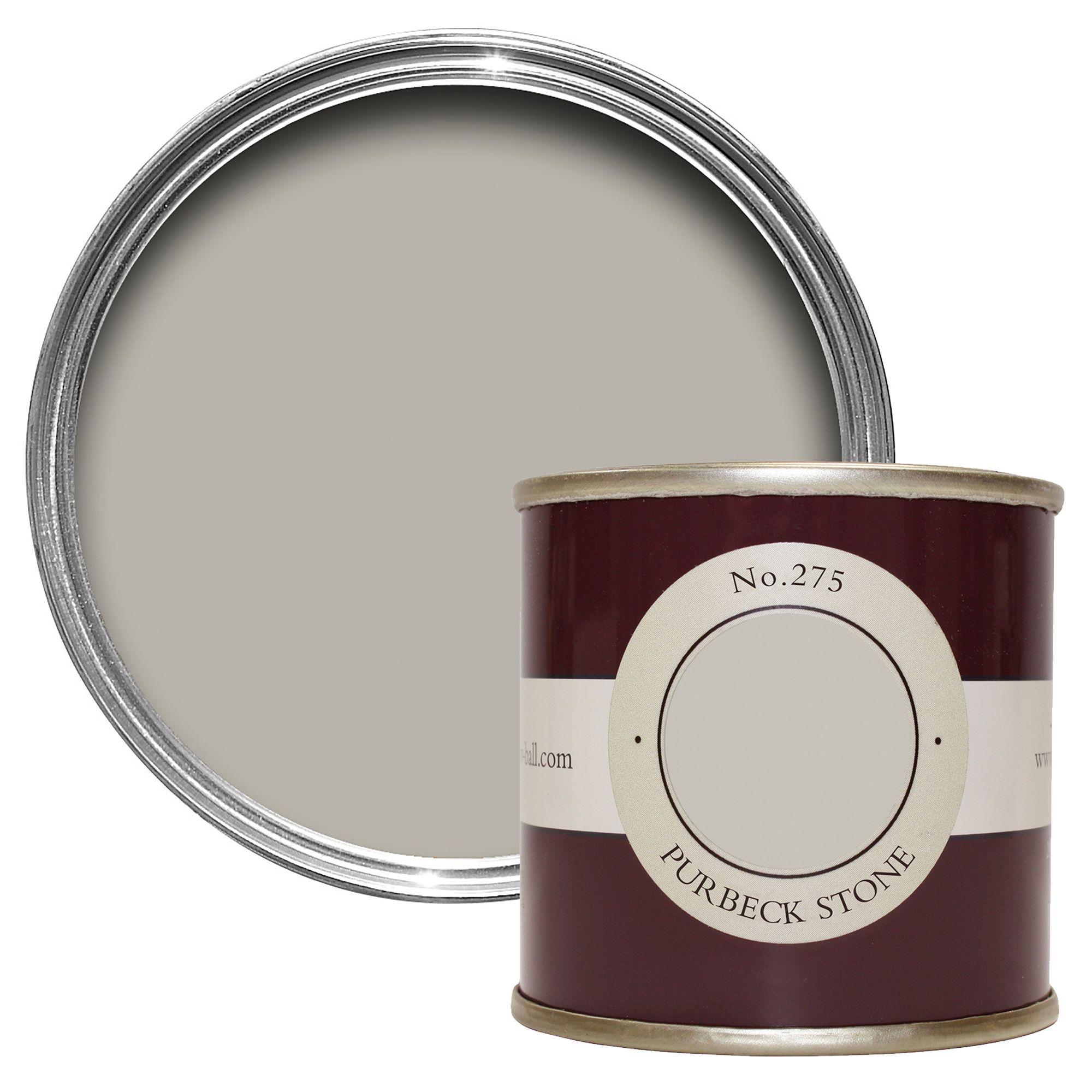 Farrow Ball Purbeck Stone No275 Estate Emulsion Paint 01l Tester