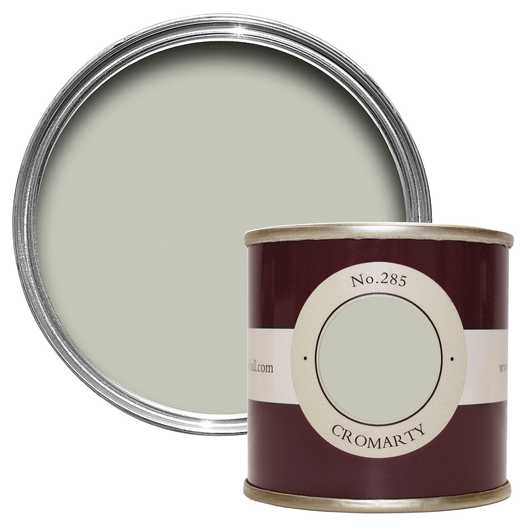 farrow ball cromarty estate emulsion paint 0 1l tester pot departments diy at b q. Black Bedroom Furniture Sets. Home Design Ideas