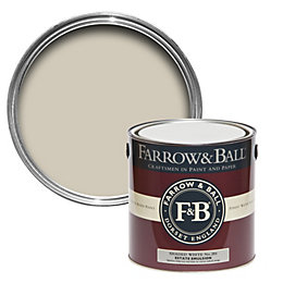 Farrow & Ball Shaded White No.201 Matt Estate