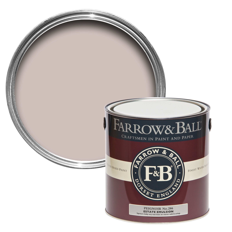 Farrow Ball Peignoir No 286 Matt Estate Emulsion Paint 2 5l Departments Diy At B Q