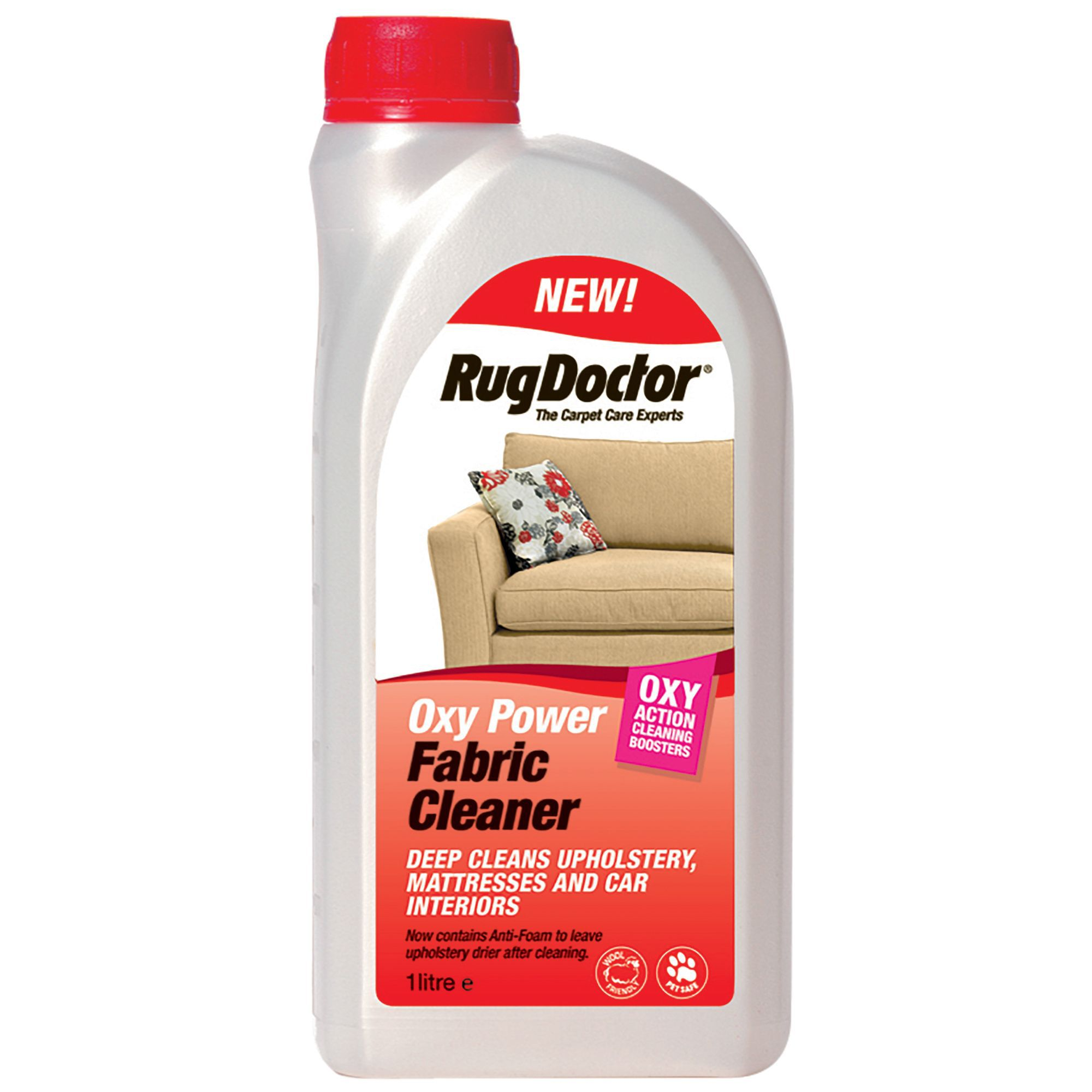 Rug Doctor Oxy Fabric Cleaner 1000 Ml Departments Diy At B Q