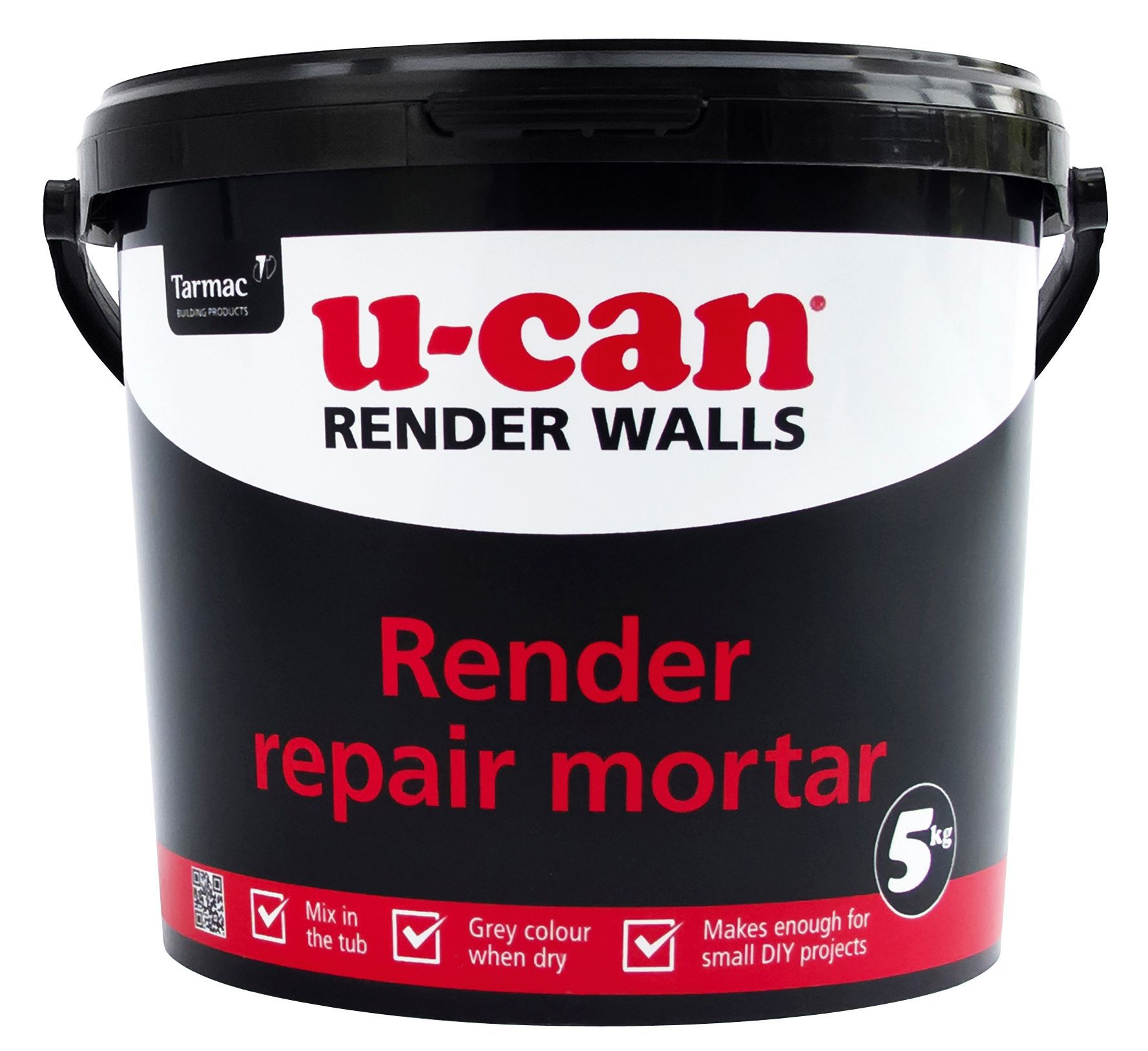 U Can Render Repair Mortar 5kg Tub Departments Diy At B Amp Q