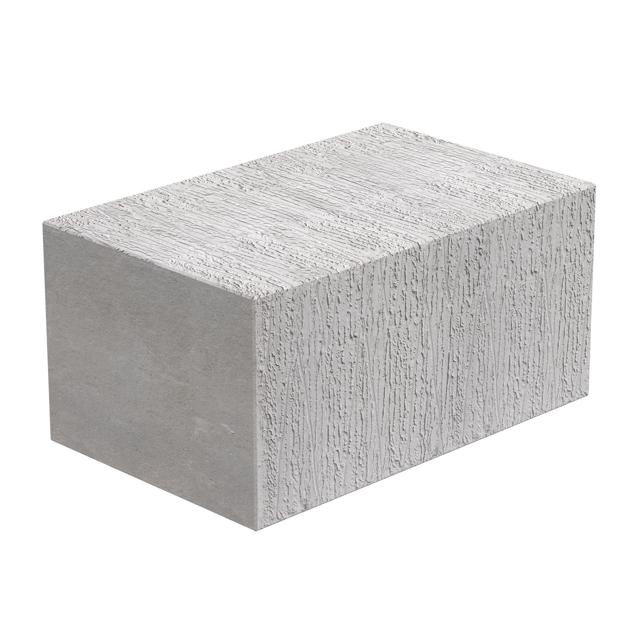 Toplite Grey Aerated Concrete Foundation Block H 215mm W