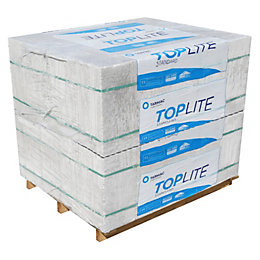 Toplite Grey Aerated concrete Foundation Block (H)215mm (W)300mm