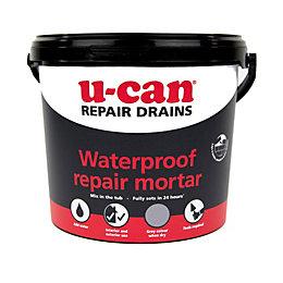 U-Can Waterproof Repair Mortar 5kg Tub