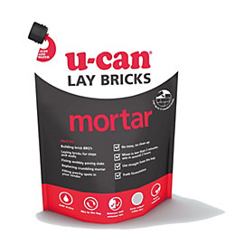 U-Can Brick Laying Mortar 17kg Bag