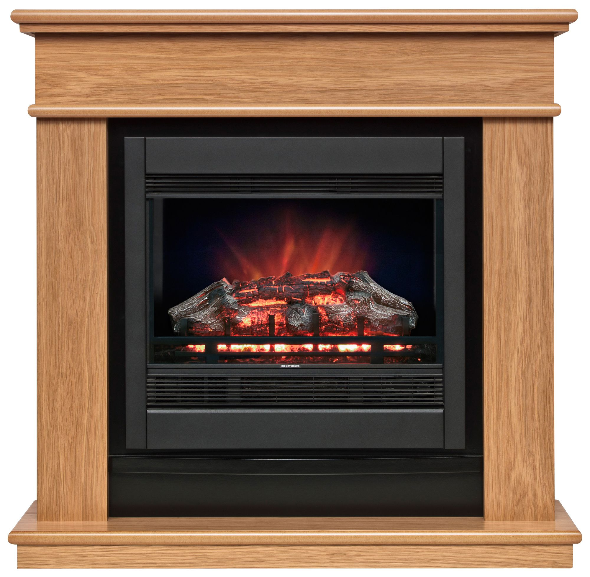 Be Modern Avalon Black Remote Control Electric Fire Suite