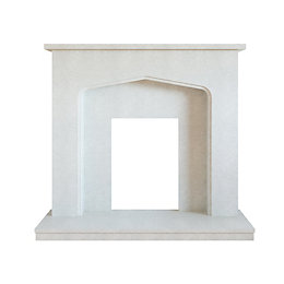 Adriana Manila Micro Marble Fire Surround