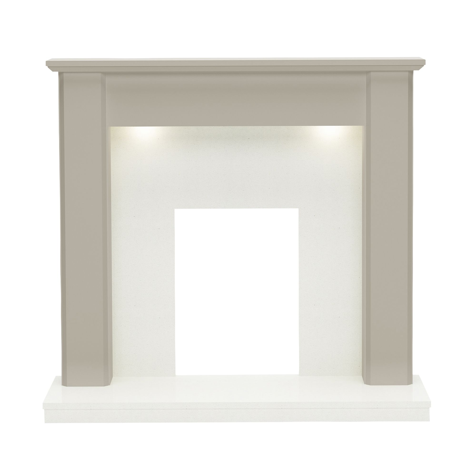 Mdf Fire Surrounds: Whitburn Stone MDF & Resin Marble Fire Surround