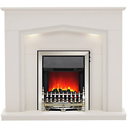 Be Modern Beauport Matt Cashmere LED Electric fire