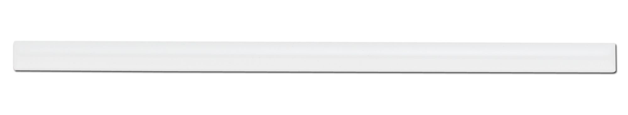 Pencil White Ceramic Border Tile, (L)250mm (W)12mm | Departments ...