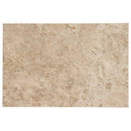 Beige Marble effect Marble Wall & floor tile,