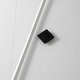 B&Q White Tile Panel Kit (L)1900mm
