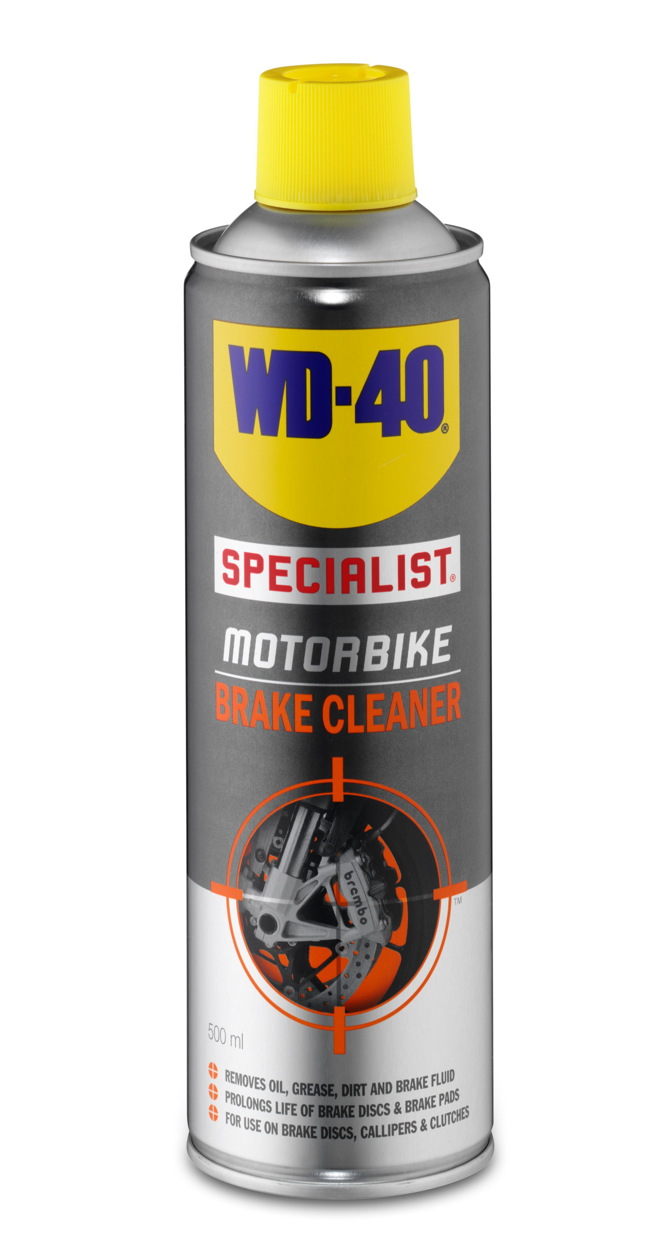 Wd 40 Motorbike Brake Cleaner 500ml Departments Diy At B Amp Q