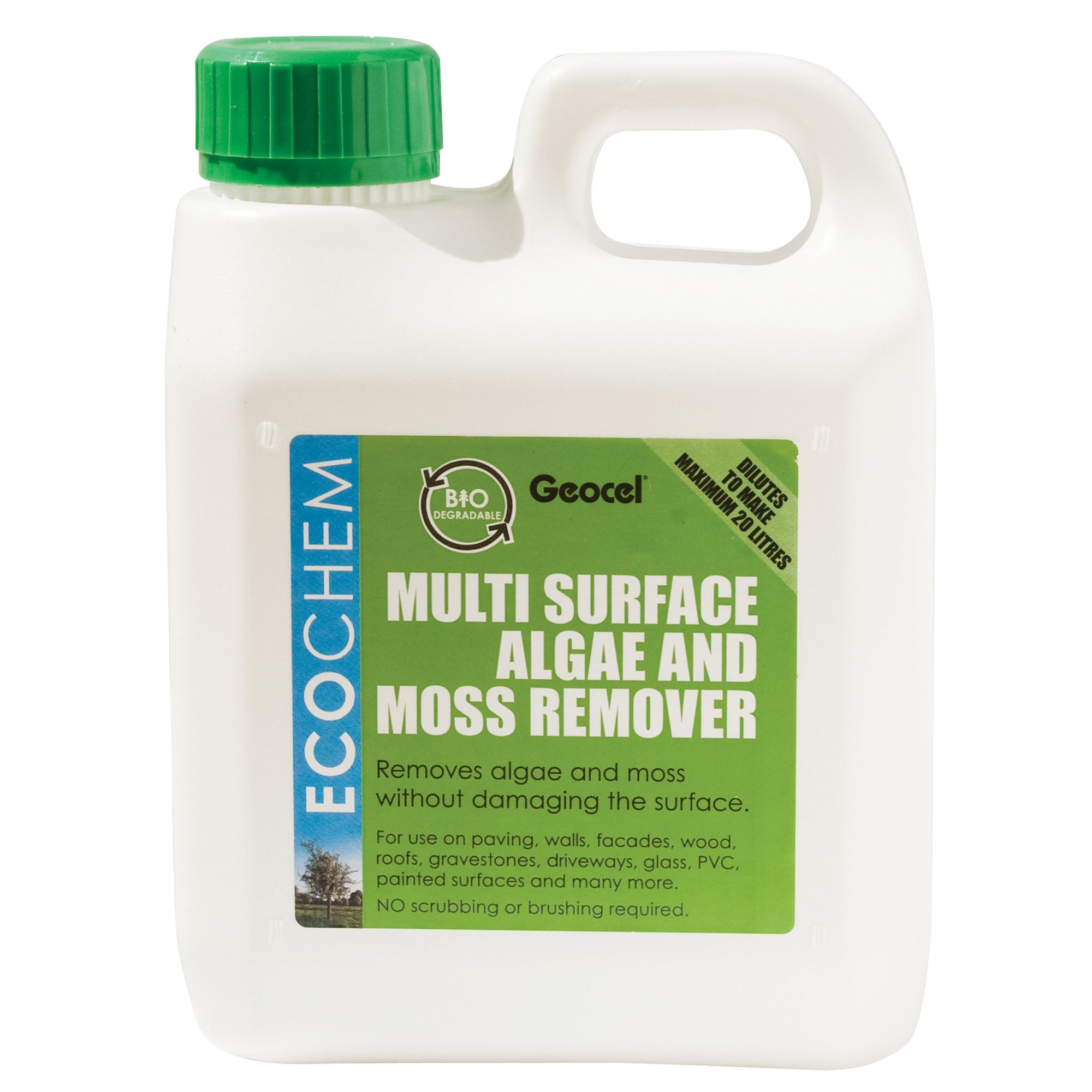 Ecochem Algae Amp Moss Remover 1000ml Departments Tradepoint