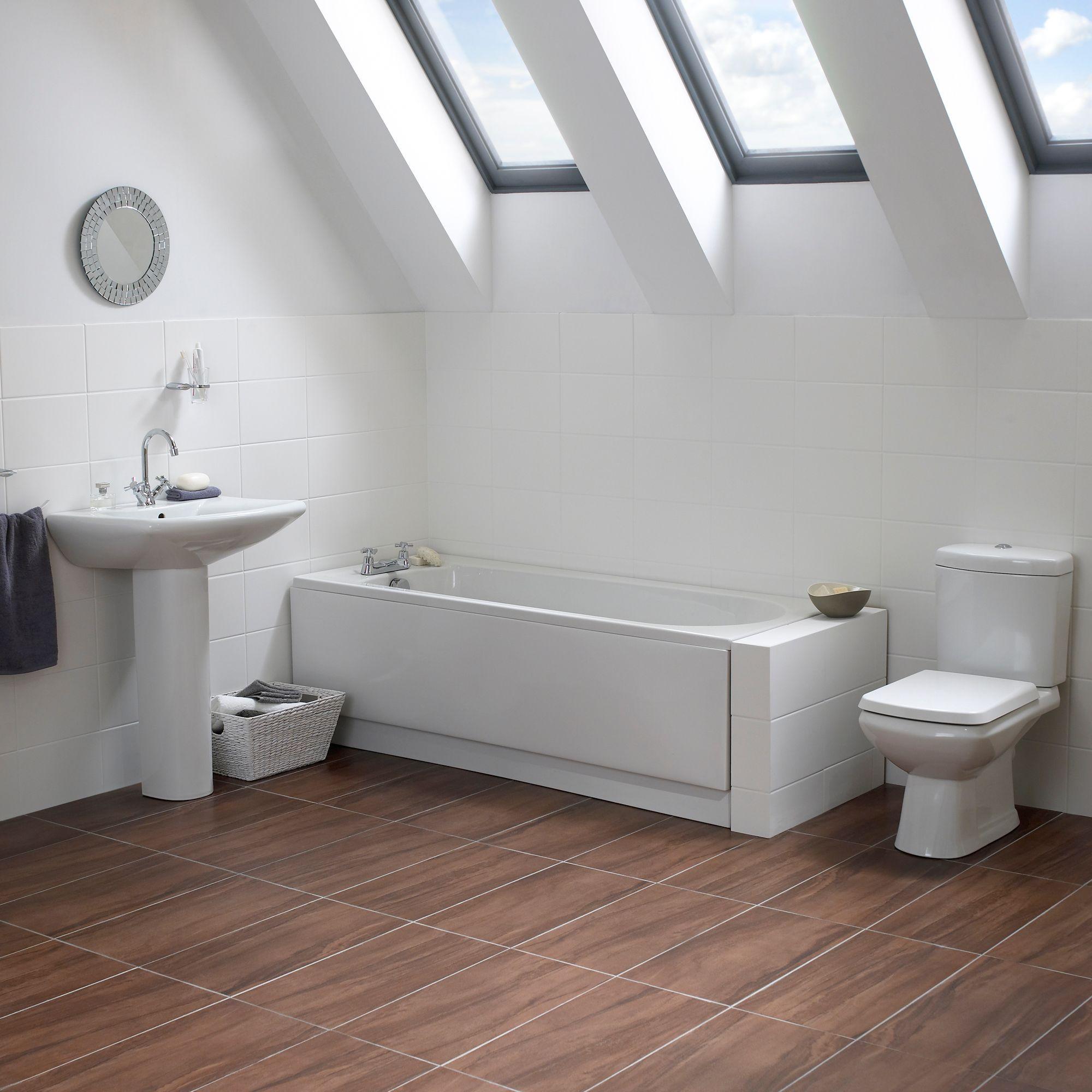 B And Q Bathrooms Suites. Cooke Lewis Seattle Bath Toilet Basin Tap Pack Departments Diy At Bq