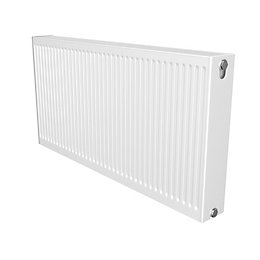 Barlo Compact Type 22 Panel radiator White, (H)600mm