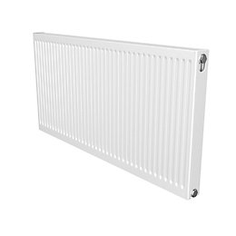 Barlo Compact Type 21 Panel radiator White, (H)600mm