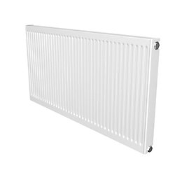 Barlo Compact Type 11 Panel radiator White, (H)600mm