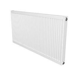 Barlo Compact Type 11 Panel radiator White, (H)600mm