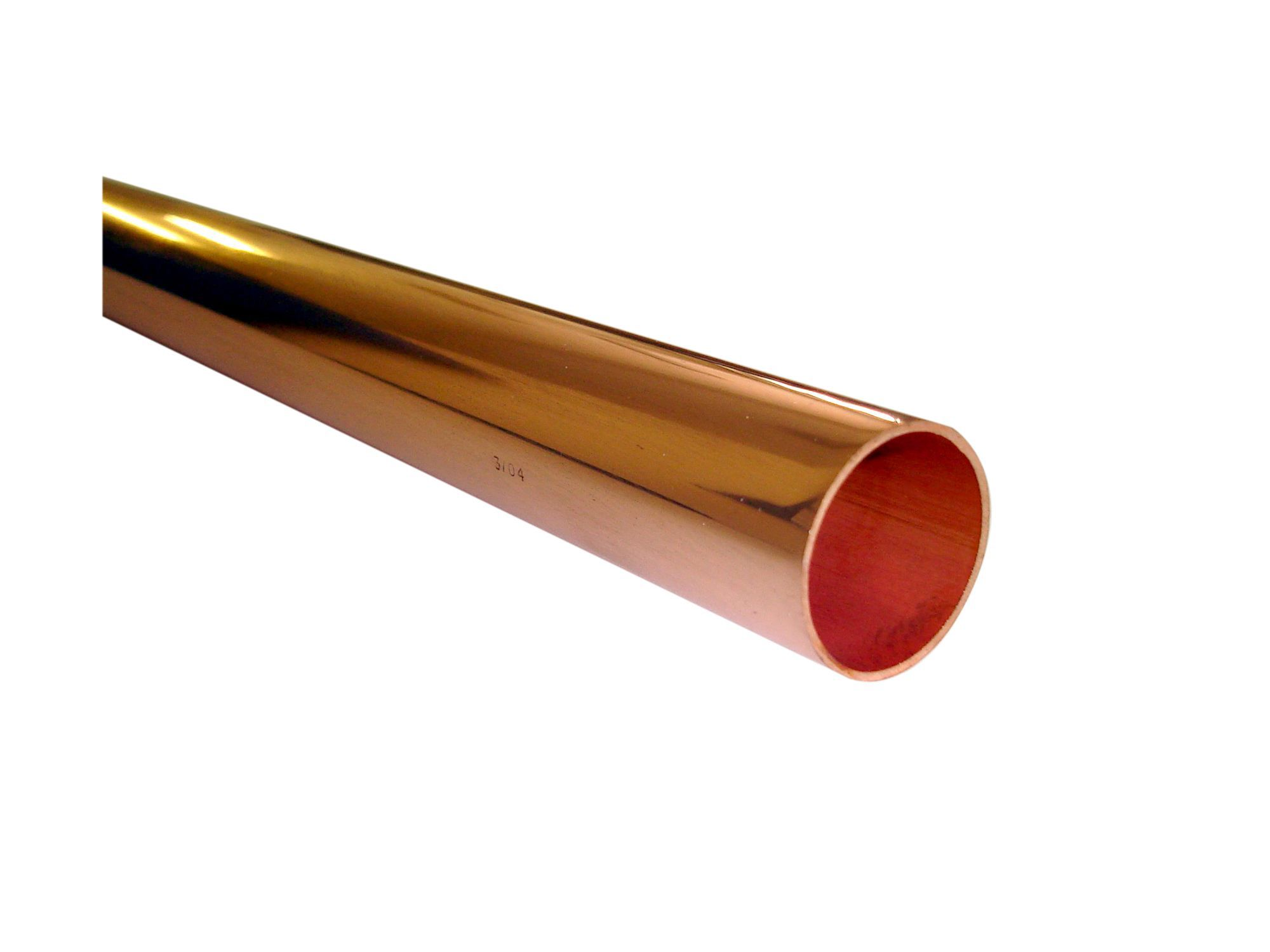 Wednesbury Compression Copper Plastic Pipe Dia 15mm L 2m