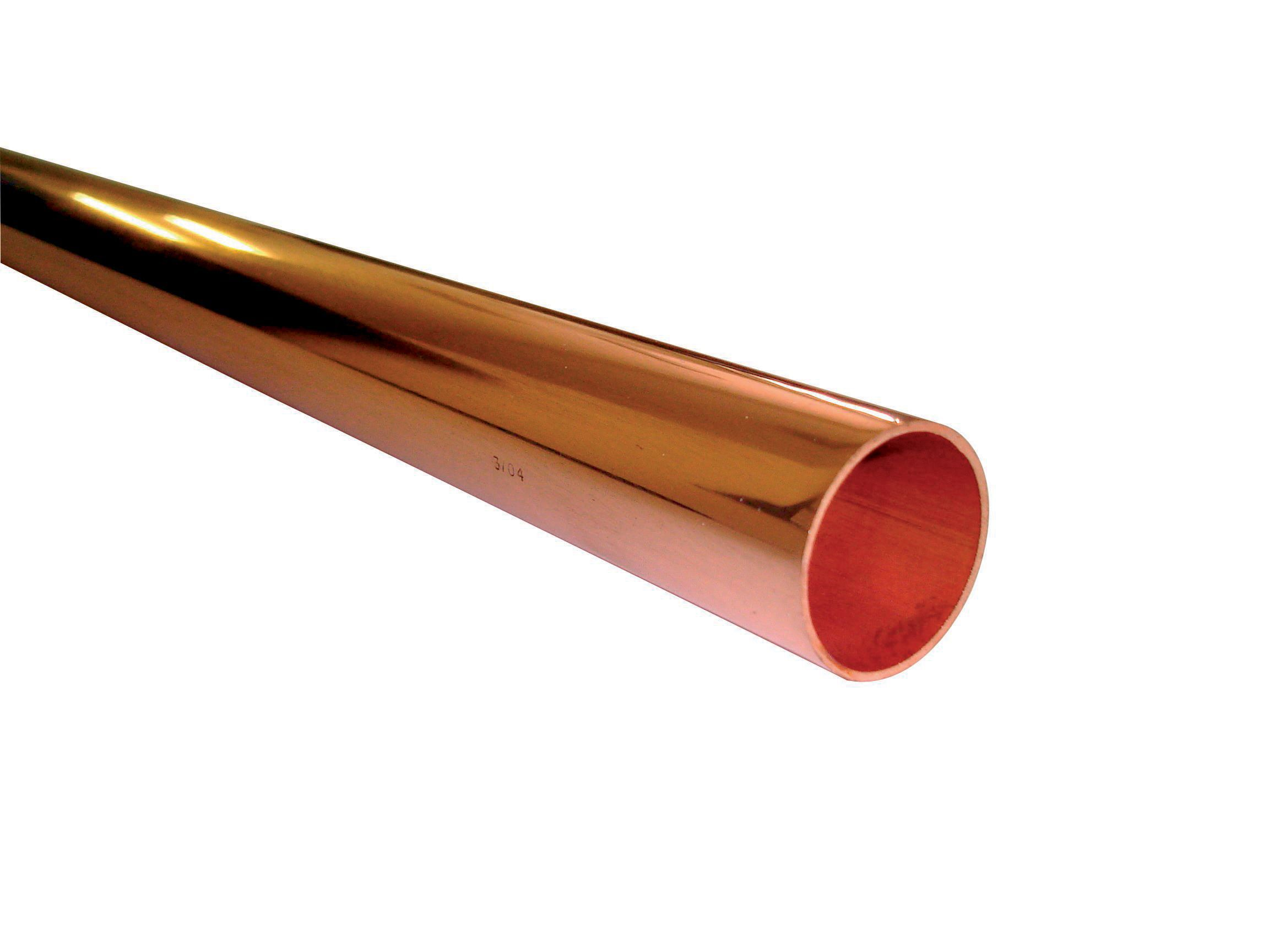 Wednesbury Compression Copper Pipe Dia 28mm L 3m