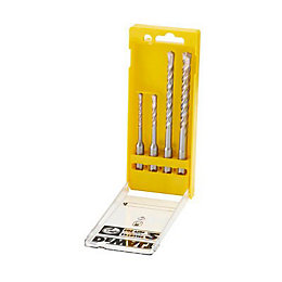 DeWalt Extreme2 SDS Plus Drill Bit Set, 4