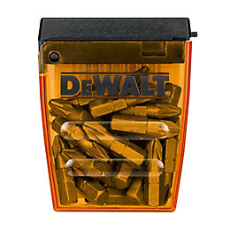 Dewalt PZ2 Screwdriver bits 25mm, Pack of 25