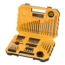 DeWalt Mixed Drill bit set, 100 Pieces