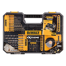 DeWalt Extreme Mixed Drill Bit Set, 100 Set