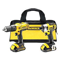 DeWalt XR 1.3Ah Li-ion Hammer drill driver &
