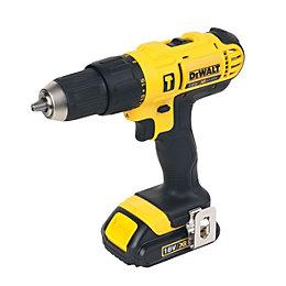 DeWalt XR Cordless 18V 1.5Ah Li-ion Combi drill