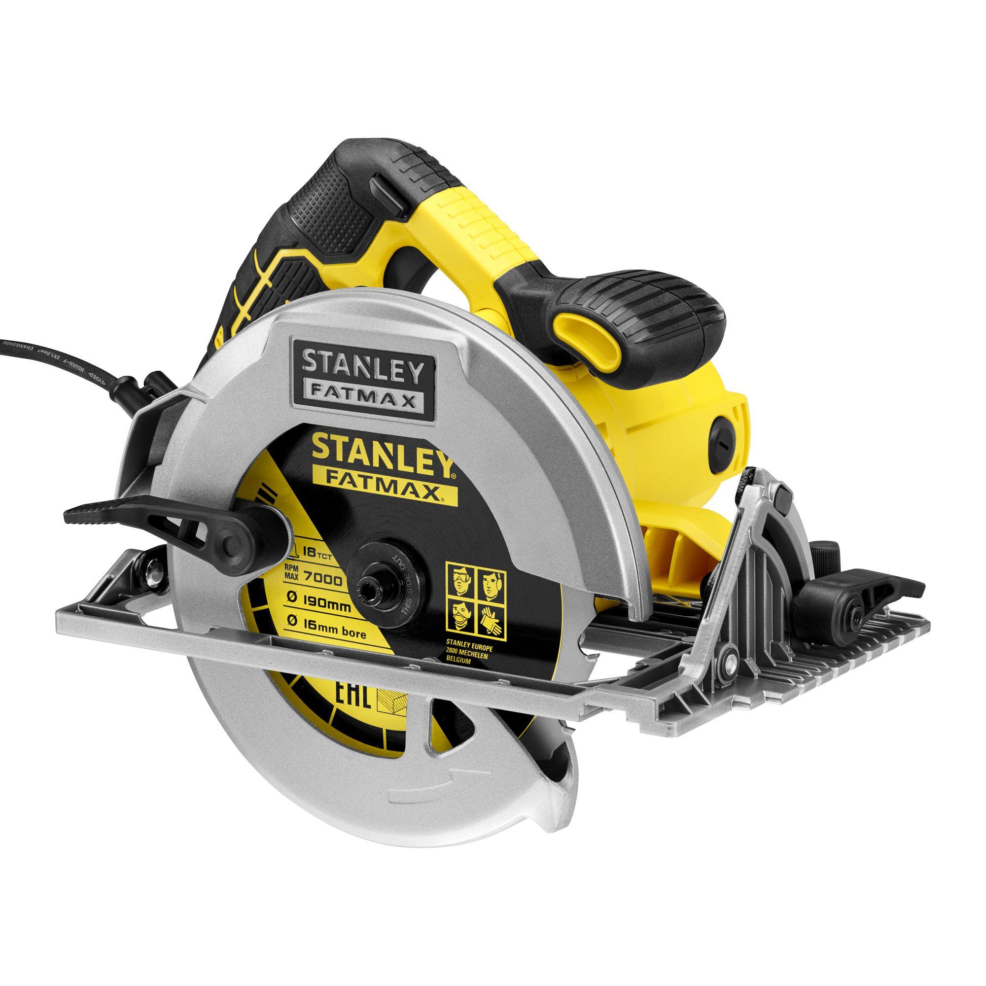 Stanley FatMax Fatmax 1650W 230V 190mm Circular Saw KFFMES301-GB |  Departments | DIY at B&Q