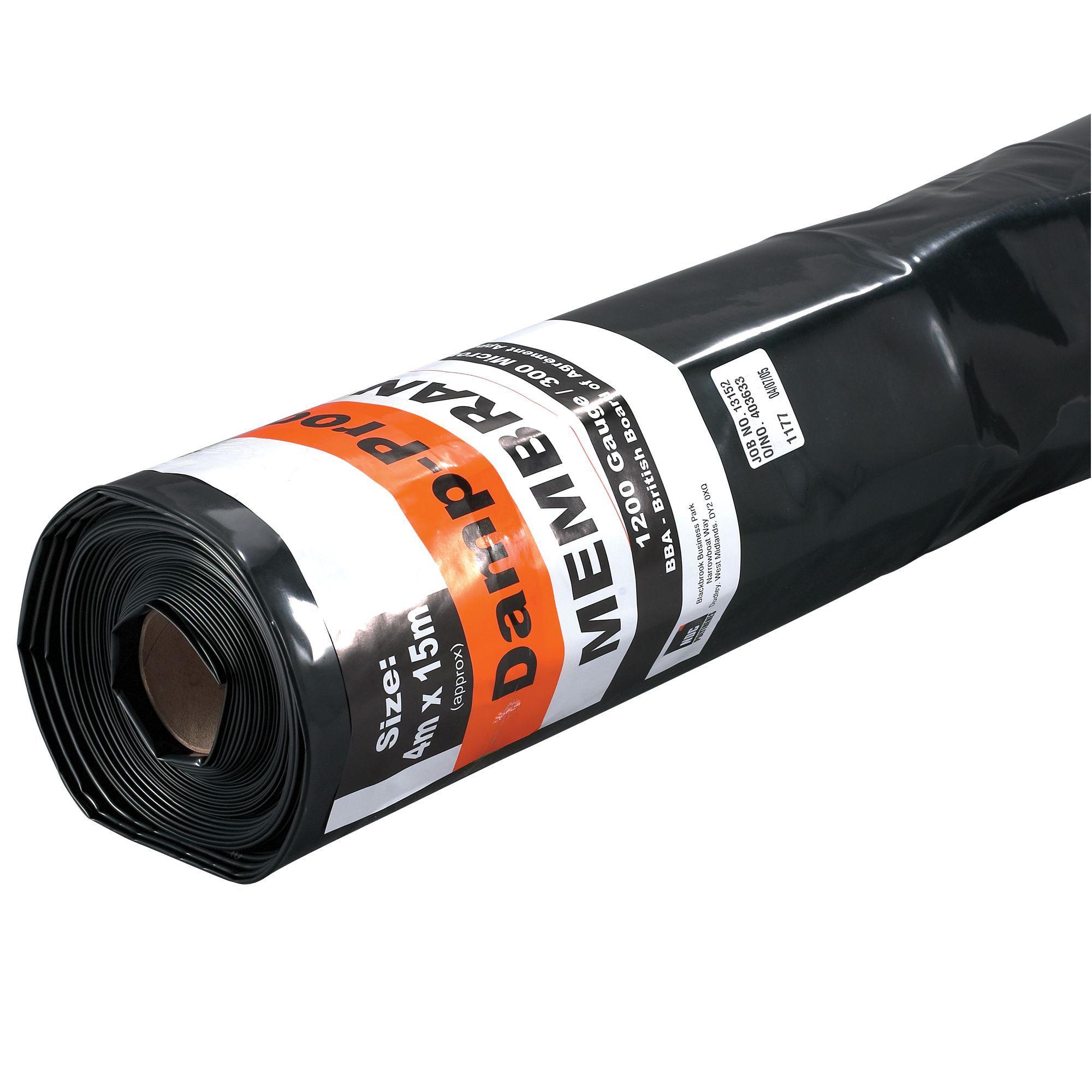 Black Damp Proof Membrane : Ndc black damp proof membrane departments tradepoint