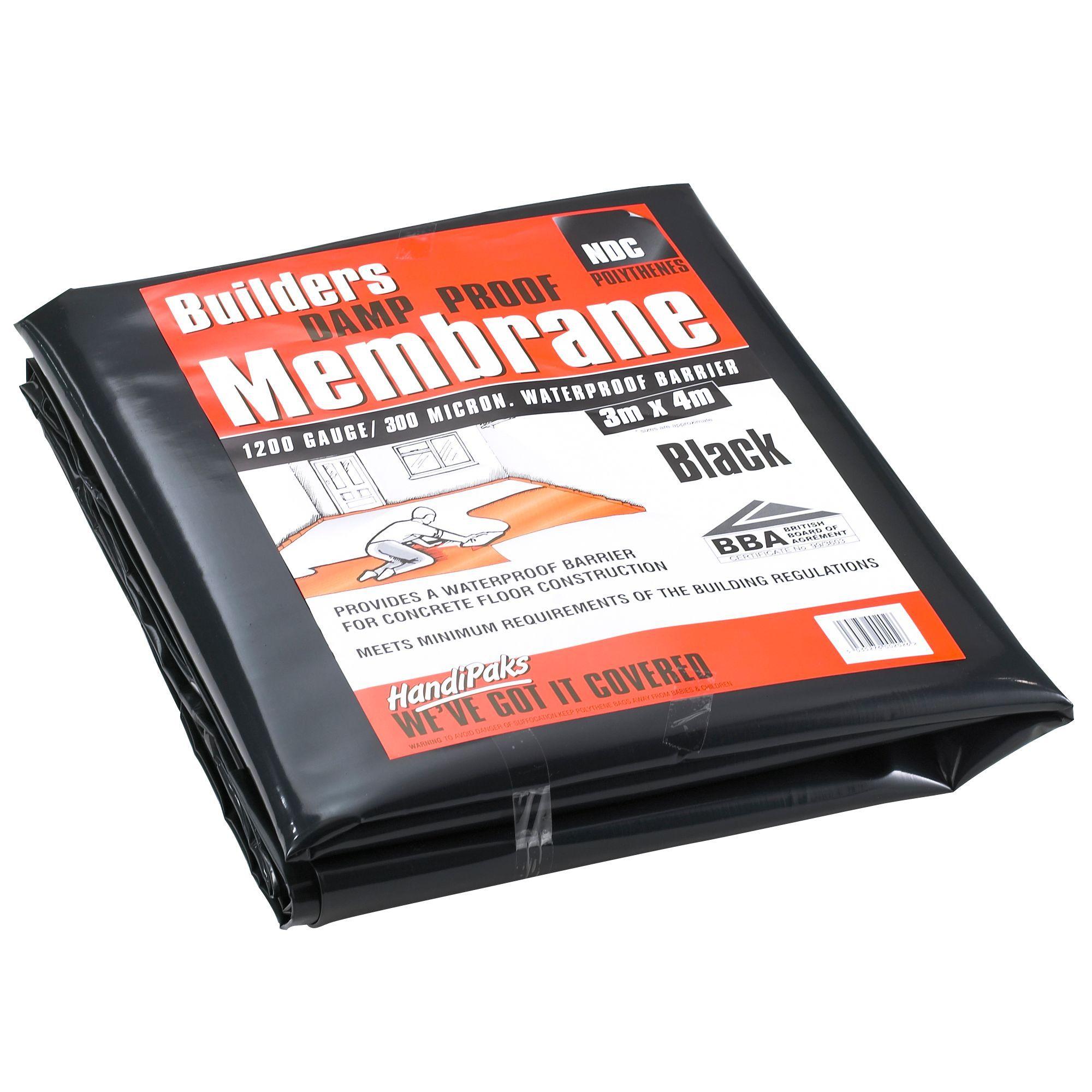 Black Damp Proof Membrane : Ndc black damp proof membrane departments diy at b q